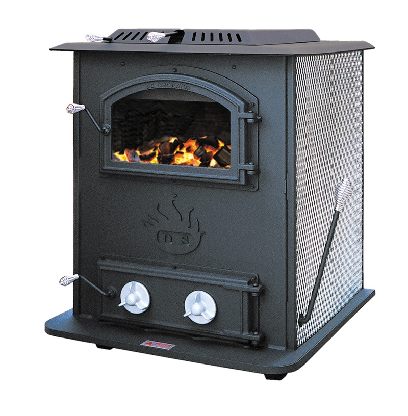 A hopper fed coal stove that does not take electricty of blowers!